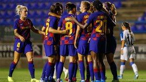 Barça - Tacón en el estreno culé en Liga