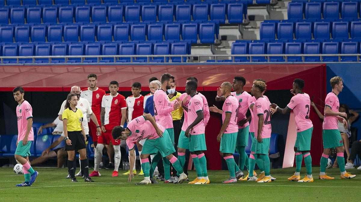 Camiseta rosa y pantalón verde: la equipación del Barça que da que hablar