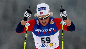 La campeona noruega en competición