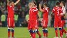 Celebración de Rusia en la victoria del domingo a Turquía