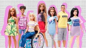 Colección de las muñecas Barbie