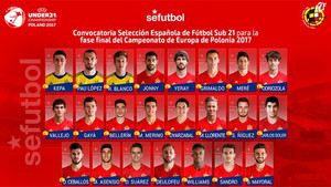 Denis Suárez es un pilar en la selección sub21