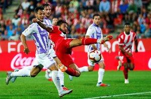 La derrota del Girona ante el Valladolid lo ha situado dentro de la zona de descenso