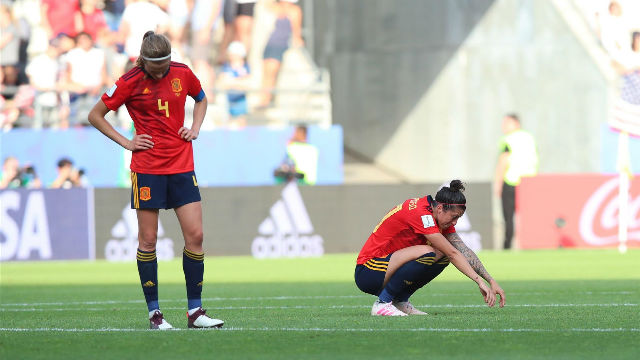 España cae con honor ante Estados Unidos