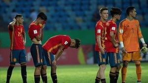 España vivió una dura derrota en el Mundial Sub 17