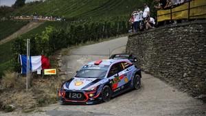 Espectacular actuación de Dani Sordo en la segunda etapa del Rally de Alemania