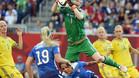 Estados Unidos no gana pero mira a octavos de final del Mundial de Canadá