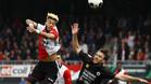 El Feyenoord desperdició su primer 'match ball'
