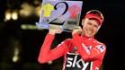 Froome, en el podio de la última Vuelta
