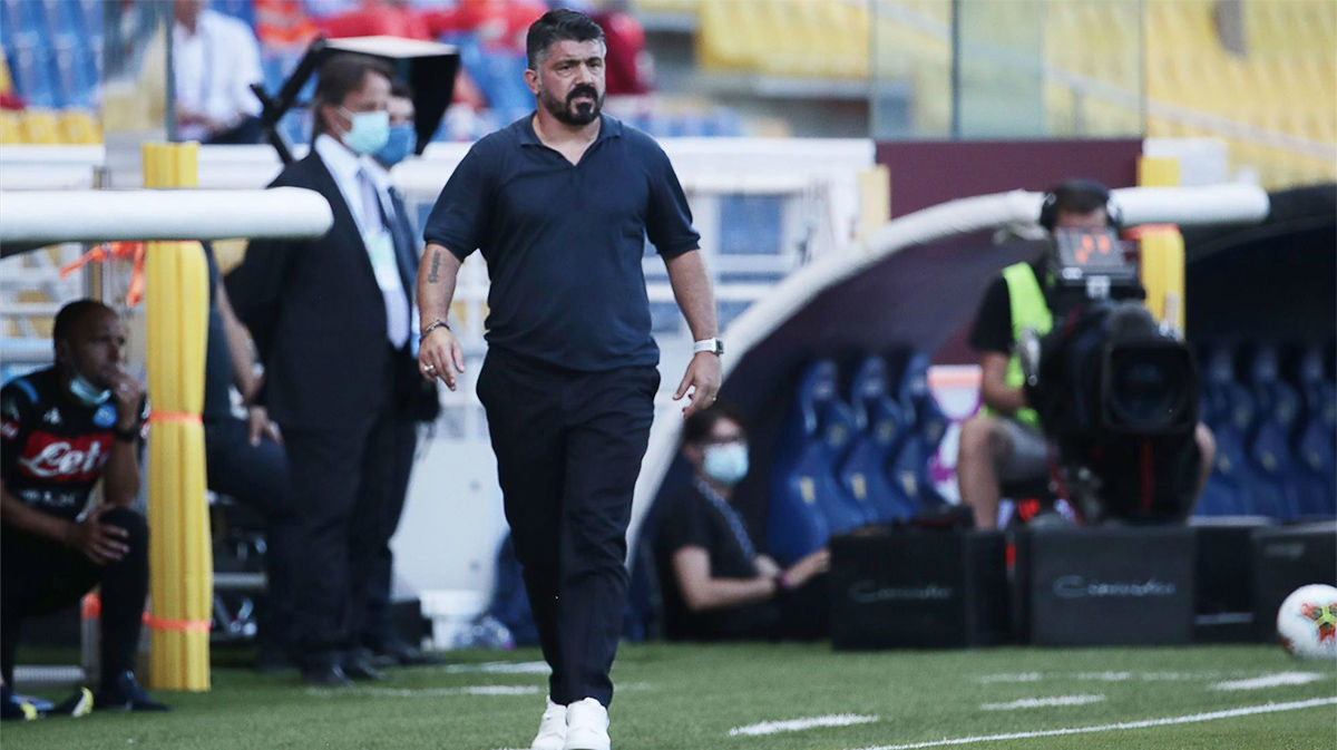 Gattuso: Si seguimos así, solo haremos cosquillas al Barça