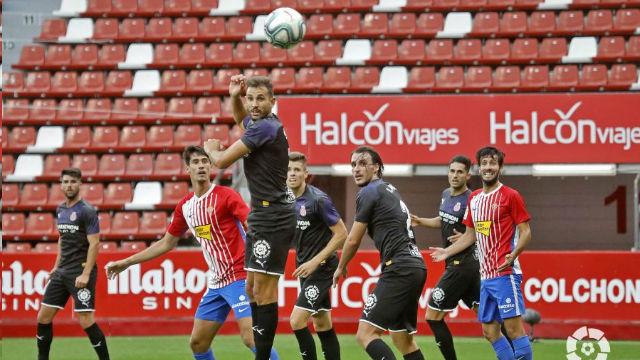El Girona suma un punto ante el Sporting