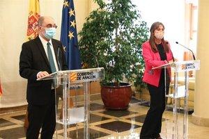 El Gobierno de Aragón ha confinado las tres capitales