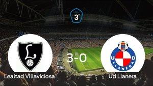Goleada del Lealtad Villaviciosa frente el Ud Llanera (3-0)