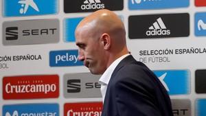 Golpe inesperado a los deseos de la Federación Española de Fútbol