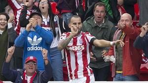 Jesé juega en el Stoke City