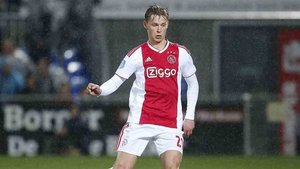 De Jong, jugador del Ajax de Amsterdam