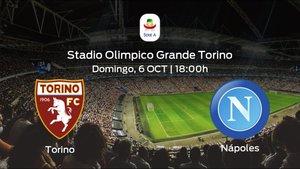 Jornada 7 de la Serie A: previa del duelo Torino - Nápoles
