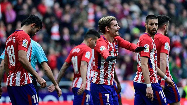 LALIGA | Atlético Madrid - Girona (1-1): El gol de Griezmann