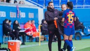 Leila es baja en el Barcelona femenino