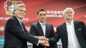 El Leverkusen presentó a su nuevo entrenador