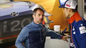 Loeb y Sordo, ahora compañeros en Hyundai