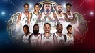 Los quintetos que disputarán el All-Star 2017