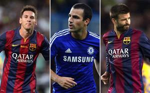 Los tres futbolistas forman parte de una generación brillante en La Masía
