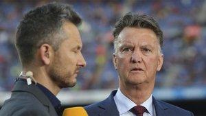 Louis van Gaal ha sido muy crítico con los dirigentes del Ajax por querer suspender la Eredivisie