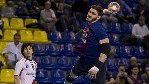 Ludovic Fabregas realizó un excelente partido ante La Rioja