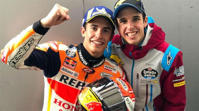 Marc y Álex Márquez, compañeros en Repsol Honda