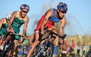 Mario Mola, triatleta español