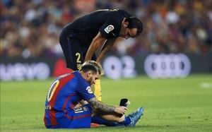 Messi se encuentra en fase de recuperación