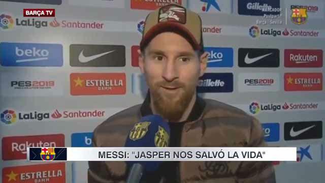 Messi: Hicimos un partidazo