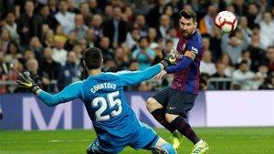 Messi volverá a verse las caras con Courtois