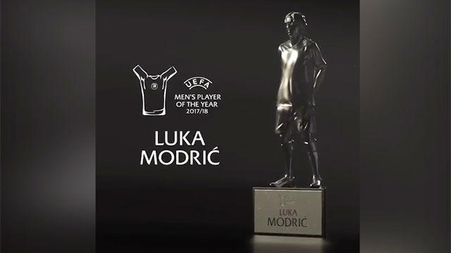 Modric, Mejor Jugador del Año por delante de Cristiano y Salah