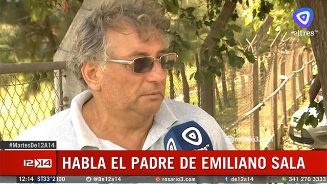 El padre de Emiliano Sala: Cada vez tengo menos esperanza