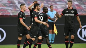 Partido cómodo para el Leverkusen