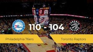 Philadelphia 76ers se impone por 110-104 frente a Toronto Raptors