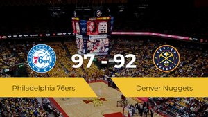 Philadelphia 76ers vence a Denver Nuggets (97-92)
