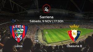 Previa del partido de la jornada 12: Leioa contra Osasuna B