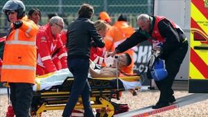 Rabat no perdió la consciencia durante el incidente