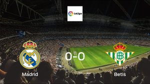 Real Madrid and Real Betis ended the game with a 0-0 draw at Santiago Bernabeu