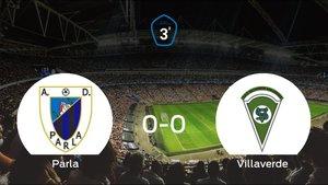 Reparto de puntos entre el Parla y el Villaverde (0-0)