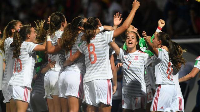 La selección españoal femenina sub20, Premio Valores Selección Española de SPORT