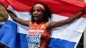 Sifan Hassan, en Mónaco tras batir el récord mundial de la milla