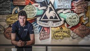 Soler atendió a SPORT en la tienda de Le Coq Sportif de Barcelona