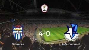 Sólido triunfo para el equipo local: At. Baleares 4-0 Internacional