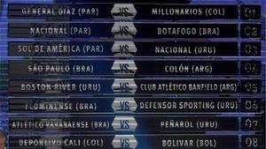 Sortedos los octavos de final de la Copa Sudamericana