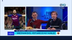 Suárez: Todavía no comí un asado invitado por Messi
