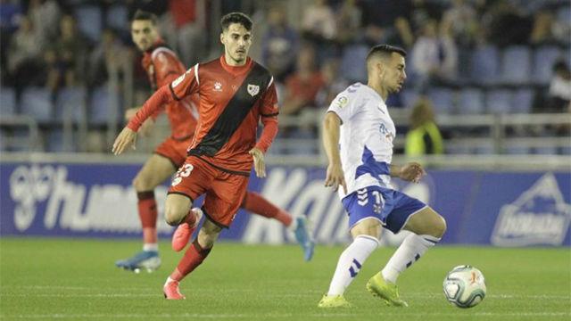 Tenerife y Rayo Vallecano firman tablas